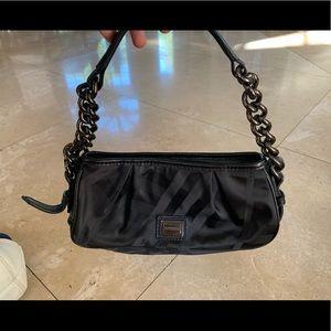 Black Burberry hand bag
